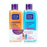 ขาย Clean Clearคลีน แอนด์ เคลียร์ เอสเซนเชียล โฟมมิ่ง เฟเชียลวอช100มล เอสเซนเชียล ออยล์คอนโทรล โทนเนอร์100มล Thailand