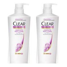 ซื้อ Clear แชมพูขจัดรังแคสูตร คอมพลีท ซอฟท์แคร์ 480 มล ซื้อคู่ลดพิเศษ สมุทรปราการ
