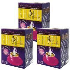 ขาย Coffee Shape Brite Boom คอฟฟี่เชฟ กาแฟปรุงสำเร็จ สูตรกลูต้า ควบคุมน้ำหนัก ต่อต้านอนุมูลอิสระ ชะลอวัย บำรุงร่างกาย หุ่นสวย ผิวใส ไร้ส่วนเกิน 12 ซอง 3 กล่อง ผู้ค้าส่ง