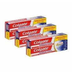 ราคา คอลเกต ยาสีฟัน โททอล โปรเฟสชั่นแนล ไวท์เทนนิ่ง 150 กรัม แพ็คคู่ X3 Set ราคาถูกที่สุด