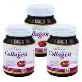 ซื้อ Colla Rich Collagen คอลลาริช คอลลาเจน สูตรใหม่ เข้มข้นกว่าเดิม ผลิตภัณฑ์เสริมอาหาร เพื่อผิวขาว กระจ่างใส ลดเลือนริ้วรอย ชะลอวัย ผิวฉ่ำน้ำ เด้ง เด็ก ขนาด 60 แคปซูล X 3 กล่อง Colla Rich ถูก