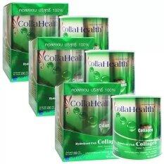 ราคา Collahealth Collagenคอลลาเจนบริสุทธิ์ คอลลาเฮลท์200 G 3กล่อง Collahealth กรุงเทพมหานคร