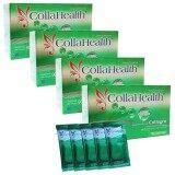 Collahealth Collagen คอลลาเจนบริสุทธิ์ คอลลาเฮลท์ 30 ซอง X 4 กล่อง เป็นต้นฉบับ