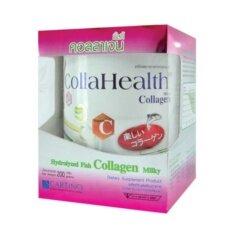 ราคา Collahealth Milky Collagen คอลลาเจนบริสุทธิ์ รสนมทานง่าย 200G X1กล่อง ใหม่