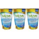 ราคา Colly Cally คอลลาเจนแท้ชนิดแกรนูล 75 000 Mg Fish Collagen 100 3 ถุง ใหม่ ถูก