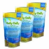 ซื้อ Colly Cally Collagen คอลลี่ คอลลี่คอลลาเจน จากเกร็ดปลาทะเลชนิดแกรนูล 100 ไม่ใช้สารเจือปน บรรจุ 75 กรัม 3 ซอง Colly Cally เป็นต้นฉบับ