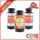 ซื้อ Core Setx3 Lipo 8 Beta Curve Lipo 3 รวม3กระปุก ของแท้100 Core
