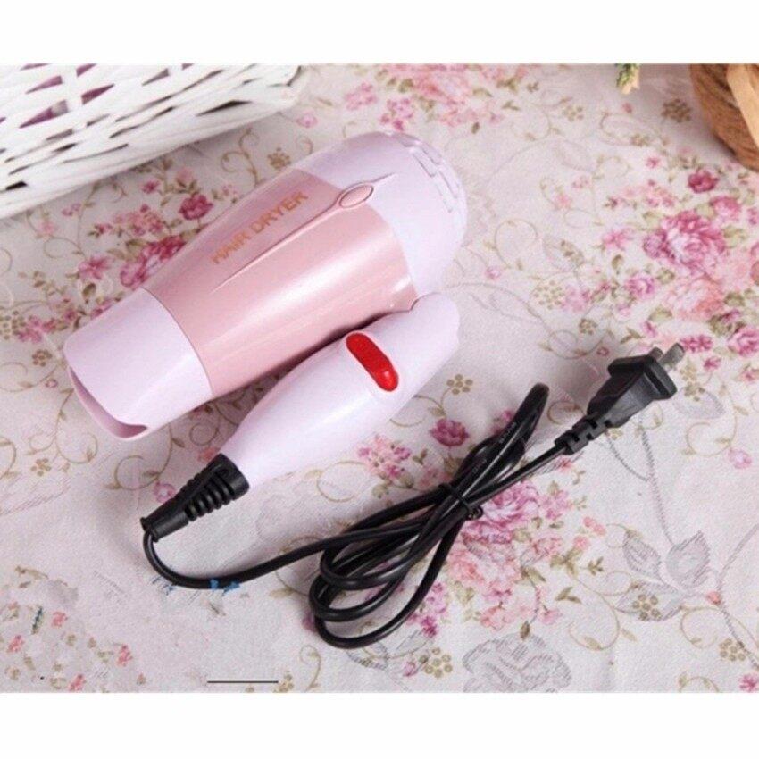 Crvid hair dryer ไดร์เป่าผม ด้ามจับแบบพับเก็บได้ 1000 W รุ่น K-100 (Pink) image