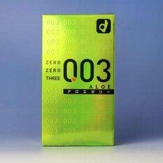 ขาย Okamoto ถุงยางอนามัย รุ่น 03 Aloe 10 ชิ้น กล่อง ใหม่