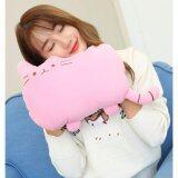 ซื้อ Cute Warmer กระเป๋าน้ำร้อนไฟฟ้า ลายแมว ถอดซักได้ สีชมพู ถูก ใน กรุงเทพมหานคร