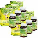 ส่วนลด สินค้า Dakota Detox ดาโกต้า ดีท็อกซ์ สมุนไพรรีดไขมัน 60 เม็ด X 6 กระปุก