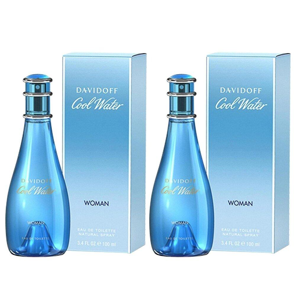 Davidoff Cool Water for Women 100ml < Double Pack >