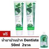 ขาย Dentiste Plus White Toothpaste ยาสีฟัน เดนทิสเต้ 160 กรัม 2 หลอด แถมฟรี น้ำยาบ้วนปาก Dentiste 50Ml 2 ขวด Dentiste ออนไลน์