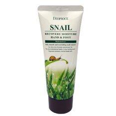 ซื้อ ครีมทามือและเท้า ดีโอพรอเช่ Deoproce Snail Recovery Hand Foot รุ่น Msk Hf2557 เพิ่มความชุ่มชื้น ผิวนุ่มนวล น่าสัมผัส ใหม่ล่าสุด