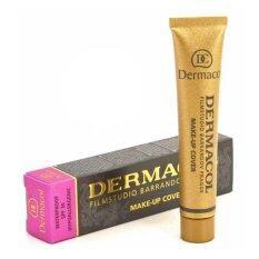 Dermacol Make Up Cover Foundation No 221 ครีมรองพื้น เดอร์มาคอล ปกปิดรอยสัก สำหรับผิวเข้ม ฉลากไทย จำนวน 1 กล่อง ใหม่ล่าสุด