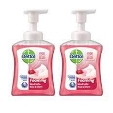 ทบทวน ที่สุด Dettol เดทตอล โฟมล้างมือ สูตรโรสเชอรี่ 250X2 มล แพ็คคู่