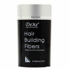 Dexe Hair Building Fiber ไฟเบอร์เพิ่มผมหนา ปิดผมบาง ขนาด 22 กรัม สีดำ ถูก