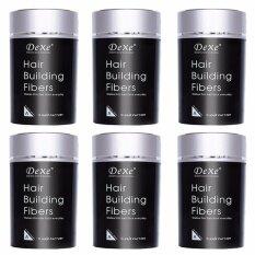โปรโมชั่น Dexe Hair Building Fibers 22G เพิ่มผมหนา ปิดผมบาง 6 กล่อง กรุงเทพมหานคร