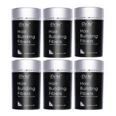 ขาย Dexe ผงผมหนา Dexe Hair Building Fiber 22G สีดำ 6 ชิ้น กรุงเทพมหานคร