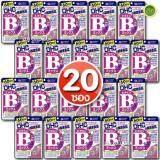 ราคา Dhc Vitamin B Mix วิตามิน บี รวม 8 ชนิด สำหรับ 60 วัน รักษาและป้องกันการเกิดสิว ลดปัญหาสิวเสี้ยน สิวอุดตัน ผดผื่นบนใบหน้าได้ดี ช่วยให้หน้าเนียนเรียบ เซ็ต 20 ซอง 1 ซอง 120 เม็ด ออนไลน์