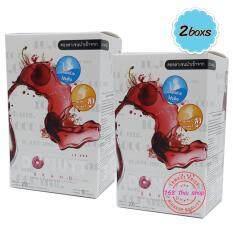 ขาย Donut Collagen ผลิตภัณฑ์เสริมอาหารโดนัทคอลลาเจน 10000 Mg 10 ซอง 2 กล่อง ออนไลน์