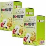 ราคา ราคาถูกที่สุด Donutt ผลิตภัณฑ์เสริมอาหารโทเทิล ไฟบีลี่ ช่วยเรื่องระบบขับถ่าย แก้ปัญหาท้องผูก ล้างสารพิษ บรรจุ 10 ซอง X 3 กล่อง