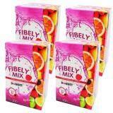 ส่วนลด Donutt Fibely Mix โดนัท ไฟบิลี่ มิกซ์ ผลิตภัณฑ์เสริมอาหาร ล้างสารพิษ ปรับสมดุลการขับถ่าย หุ่นสวย ผิวใส สุขภาพดี ขนาด 10 ซอง X 4 กล่อง Donutt Brand ไทย