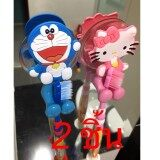 ความคิดเห็น ที่เสียบแปรงสีฟัน Doraemon Hello Kitty 2ชิ้น