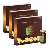 ขาย Dr Surapol สปอร์เห็ดหลินจือสกัด ตรา ดร สุรพล ผลิตภัณฑ์อาหารเสริม 1 กรัม 3 กล่องบรรจุ 30 ขวด Dr Surapol