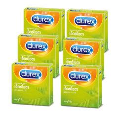 โปรโมชั่น Durex Excita 3ชิ้น กล่อง 6 กล่อง ใน กรุงเทพมหานคร