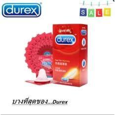 ขาย ซื้อ ออนไลน์ Durex Fetherlite ถุงยางอนามัย ถุงยางอนามัยดูเร็กซ์ 12ชิ้น กล่อง