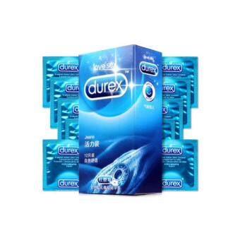 Durex Jeans ถุงยางอนามัยดูเร็กซ์ (12ชิ้น/1กล่อง) จำนวน 1 กล่อง