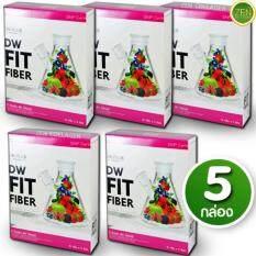 ราคา Dw Fit Fiber Detox ดี ดับบลิว ฟิต ไฟเบอร์ ดีท๊อกซ์ อาหารเสริมลดน้ำหนัก ล้างสารพิษช่วยการขับถ่าย ขับของเสีย หุ่นสวย ผิวใส ลำใส้สะอาด เซ็ต 5 กล่อง 5 ซอง กล่อง Dw Thailand