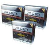 ราคา Dw Gluta ดีดับเบิ้ลยู กลูต้าหน้าเด็ก ขาวกระจ่างใส ย้อนวัยผิว สูตรใหม่ ขาวไวยิ่งขึ้น 3 กล่อง 30 ซอฟเจล กล่อง De White Gluta เป็นต้นฉบับ