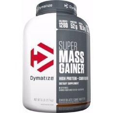 ขาย Dymatize Super Mass Gainer 6 Lbs สูตรเพิ่มน้ำหนัก รสช็อคโกแลต Dymatize