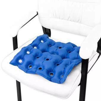 เบาะลมรองนั่งเพื่อสุขภาพ PVC Inflatable Waterproof Seat Cushion with Hand Pump