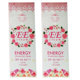 ขาย Ee Cream Energy Enhancing Cream By White Aura 100G 2 กล่อง White Aura เป็นต้นฉบับ