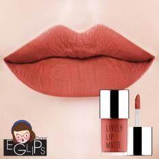 ขาย ซื้อ ออนไลน์ Eglips Lively Lip Matte Lm002 Fake Pumpkin Matte