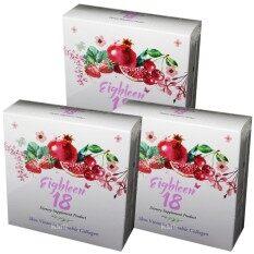 ขาย Eighteen 18 เอธ ธีน ผลิตภัณฑ์เสริมอาหารที่มี Sod เข้มข้น จากสุดยอดผลไม้ 3 ชนิด ขนาด 30 เม็ด 3 กล่อง ถูก ใน ไทย