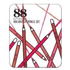 ขาย Eity Eight Ver 88 Holiday Lip Pencil Set ลิปดินสอเนื้อแมท 1 กล่อง ออนไลน์ ใน ไทย