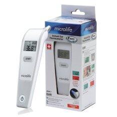 ราคา เครื่องวัดอุณหภูมิทางช่องหู ปรอทวัดไข้ Microlife ไมโครไลฟ์ รุ่น Ir 1Df1 1 เป็นต้นฉบับ