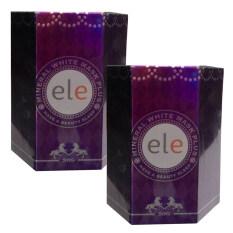 โปรโมชั่น Ele Mineral White Mask Plus ครีมมาร์คอีอแอลอี ยกกระชับ ปรับสีผิว บำรุงลึกเข้าตรงจุดถึงเซลล์ผิวชั้นใน เสริมสร้างและยับยั้งการทำลายคอลลาเจน 50G 2 กล่อง ใน ไทย