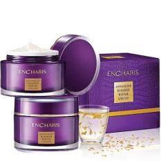 ส่วนลด Encharis Advance Blemish Repair Cream 50G ครีมบำรุงผิวหน้าสูตรพิเศษสารสกัดน้ำมันจระเข้และทองคำบริสุทธิ์ ทำให้ผิวเรียบเนียน ลดเรือนริ้วรอยได้ดี Encharis ใน Thailand