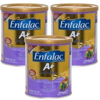Enfa Lactose Free Care ขนาด400กรัม (แพ็ค3กระป๋อง)