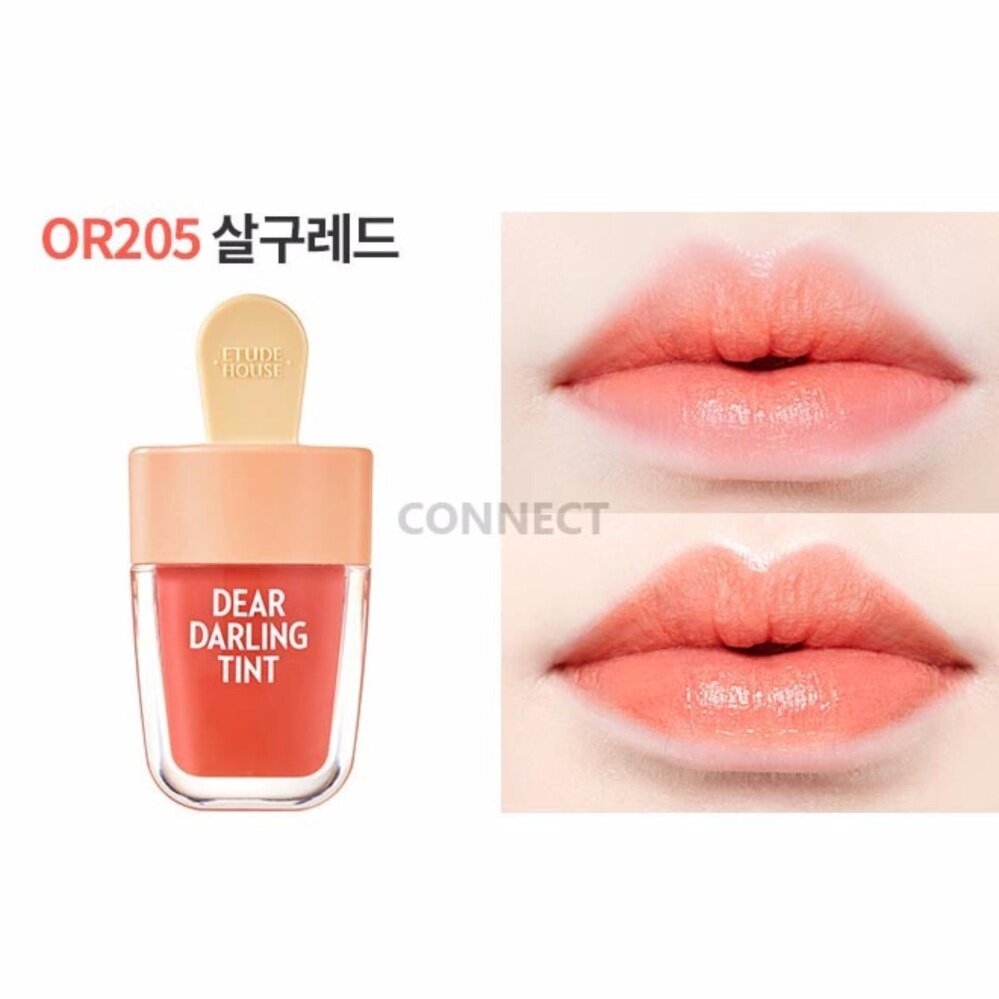 Etude House Dear Darling Water Gel Tint ลิปทิ้นไอติม #OR205