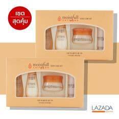 ความคิดเห็น Etude House Moistfull Collagen Skin Care Kit 1 กล่อง 4 ชิ้น จำนวน 2 กล่อง