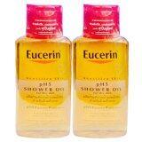 Eucerin Sensitive Skin Ph5 Shower Oil For Dry Skin 200 Ml 2 ขวด ใหม่ล่าสุด