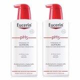 ซื้อ Eucerin Sensitive Skin Ph5 Skin Protection Lotion 400 Ml 2 ขวด ออนไลน์ ถูก