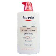 ส่วนลด Eucerin Sensitive Skin Ph5 Washlotion For Body And Face 1000 Ml Eucerin