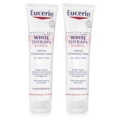 ซื้อ Eucerin White Therapy Clinical Gentle Cleansing Foam 150 Ml 2 ชิ้น Eucerin ออนไลน์